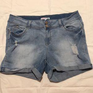 Wanna Betta Butt Denim shorts